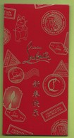 CHINOIS * RED POCKET *  CHRISTIAN LOUBOUTIN - Cartoline Profumate