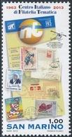 "San Marino 2013 Correo 2373 50 Aniversario De ""Italian Thematic Philately Centr - San Marino"