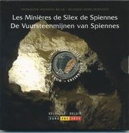 Coffret BU 2011 Avec Médaille Colorée - Bélgica