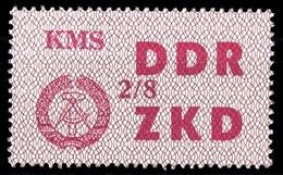 1964, DDR Verwaltungspost C Laufkontrollzettel ZKD, 38 VIII, * (1710045084) - DDR