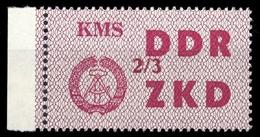1964, DDR Verwaltungspost C Laufkontrollzettel ZKD, 38 III, * (1710045083) - DDR