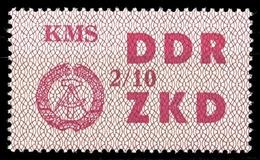 1964, DDR Verwaltungspost C Laufkontrollzettel ZKD, 38 X, * (1710045085) - DDR