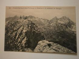 Suisse. Chaine Du Vanil Noir Folliéran Et Brenlaire Du Sommet De Savigny (8474) - FR Fribourg