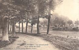 88 CHARMES LE GRAND PONT ET LE CANAL DE LEST PENICHE - Charmes