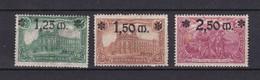Deutsches Reich - 1920 - Michel Nr. 116/118  - Ungebr. - Neufs