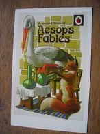 CPM 2nd Aesop's Fables, Goose Fox Oie Renard - Contemporain (à Partir De 1950)