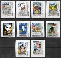 GREECE 2019 Special Edition 15 Years Of Athens Voice, Booklet Of 10 Self-adhesive Stamps UNUSED LUX - Greece