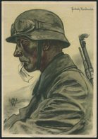 1940 Germany DR Propagandakarte Spende Für Die VDA Schulsammlung W.Willrich, Feldpost Guben - Berlin - Germany