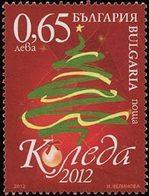 BULGARIE Noël 2012 1v Neuf ** MNH - Nuovi