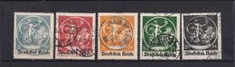 Deutsches Reich - 1920/21 - Michel Nr. 134/138  - Gest. - 73 Euro - Used Stamps