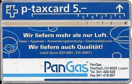 Switzerland: PTT KP-93/189A2 407L Pan Gas - Svizzera