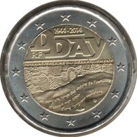 FR20014.2 - FRANCE - 2 Euros Commémo. 70ème Anniversaire Du Jour J - 2014 - France