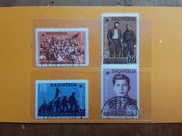 ALBANIA 1942 - Nn. 365/68 Timbrati + Spese Postali - Albania