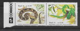 Thème Animaux - Serpents - Grenouilles - Tortues - Brésil - Neuf ** Sans Charnière - TB - Reptiles & Batraciens