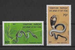 Thème Animaux - Serpents - Grenouilles - Tortues - Afars Et Issas - Neuf ** Sans Charnière - TB - Reptiles & Batraciens