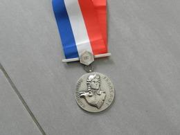 Médaille Ou Décoration  République  Française  Avec Ruban - Altri