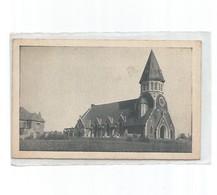 Fromelles-l'église-carte écrite Abbé Fruy-curé De Fromelles - France