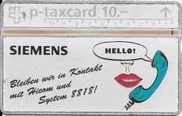 Switzerland: PTT KP-93/193A1 310L Siemens-Albis AG - Svizzera