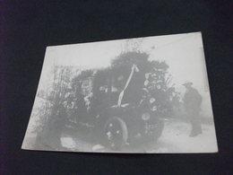 AUTO CAR VOITURES COCHE VOITURE FLEURIE POUR CORSO MENTON 1898 MENTONE FRANCIA - Manifestazioni