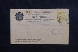 MONTÉNÉGRO - Entier Postal Pour Rieka En 1912 - L 52608 - Montenegro