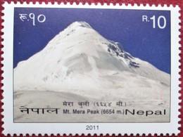 Nepal  2011    1 V  MNH - Bergsteigen