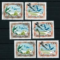 Yugoslavia Nº A-59/60º (3 Series) Cat.24€ - Airmail