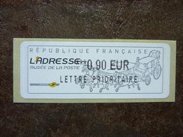 2010  LISA2  L'adresse Musée De La Poste  LETTRE PRIORITAIRE   0,90€ (vendue à La Faciale) ** MNH - 2010-... Illustrated Franking Labels