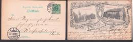 Gruczno, Świecie Pommern Gruss Aus - Karte 1898, Katholische Kirche Kaiserliches Postamt - Pommern