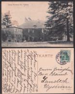 Perschütz Krs. Trebnitz Schloss, Card 1914 Bierzyce Schlesien - Schlesien