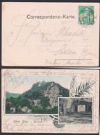 Malá Skála Klein Skal, Pantheum, Karte 1911 Sudeten - Sudeten