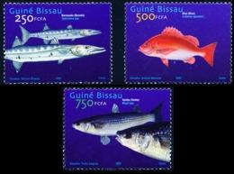2002Guinea-Bissau2025-27Sea Fauna10,00 € - Vie Marine