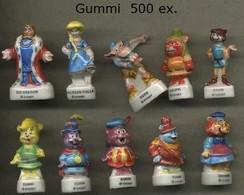 Serie Complete De 10 Feves Gummi - Disney
