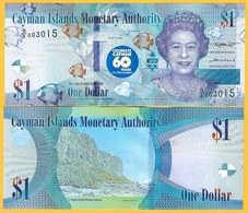 Cayman Islands 1 Dollar P-new 2018(2020) Commemorative UNC Banknote - Kaaimaneilanden