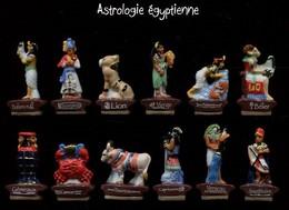 Serie Complete De 12 Feves Astrologie Egyptienne - Geschichte
