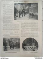 1901 EXPOSITION FELINE - SILLÉ LE GUILLAUME - SAINT HUBERT - CHIEN D'ESQUIMAUX  - AUTOMOBILE EN AMERIQUE - GONDRAND - Newspapers