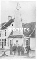 Foto Standbeeld Zomergem 1899 - 7,5 X 12,5 Cm - Zomergem