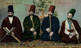 EGIPTO // EGYPTE. SALUT DE L'ORIENT DERVICHES MUSICIENS - Persone