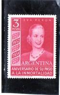CG5 - 1952 Argentina - Evita Peron - Ongebruikt