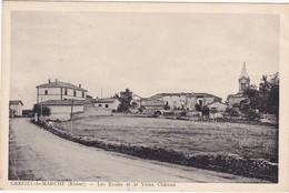 Rhone : GREZIEU-LE-MARCHE : Les écoles Et Le Vieux Chateau - Autres Communes