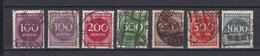 Deutsches Reich - 1923 - Michel Nr. 268/73 - Gest. - 24 Euro - Gebraucht