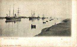 EGIPTO // EGYPTE. PORT SAID. ENTREE DES PETITS LACS - Puerto Saíd
