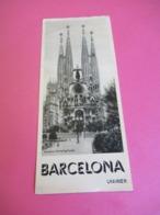 Prospectus Touristique/ESPAGNE/BARCELONA/en Allemand /Direction Générale Du Tourisme /Vers 1950  PGC300 - Tourism Brochures