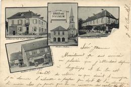 """Gruss Aus Stotzheim """"pionnière 1903"""" - France"""