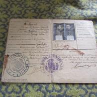 WW1 Belgian Cavalry Soldier's ID Book - 1914-18