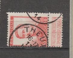 COB 123 Oblitération Centrale THEUX - 1912 Pellens
