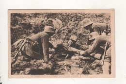 Un Francais Enlise Dans La Boue Jusqu A Mi Corps Prisonnier De La Terre - Guerre 1914-18
