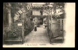 44 - NANTES - LES BAINS DU CALVAIRE,  RUE DU CALVAIRE - Nantes