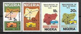 Nigeria N° 318/21 YVERT NEUF ** - Nigeria (1961-...)