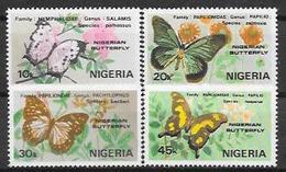 Nigeria N° 408/11 YVERT NEUF ** - Nigeria (1961-...)