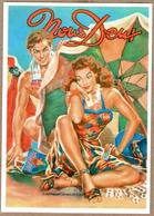 """""""Nous Deux"""" - Il Manquait Un Roi De Coeur (couple, Pin Up, Sexy, Magazine) - Coppie"""